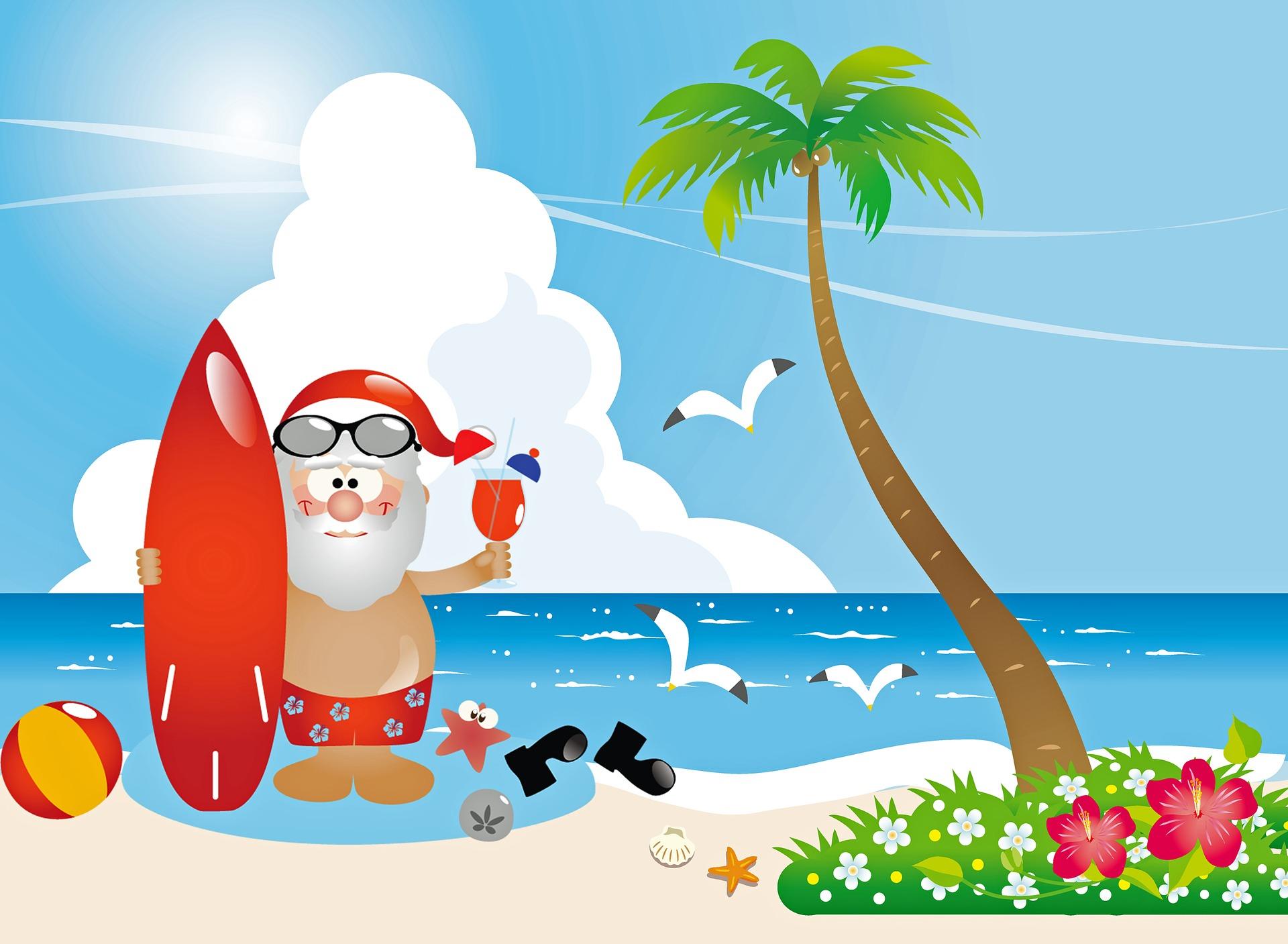 santa-claus-at-beach-3760198_1920